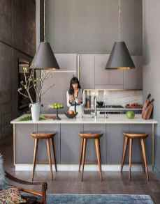 70 Cool Modern Apartment Kitchen Decor Ideas (25)