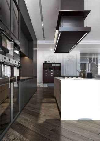 70 Cool Modern Apartment Kitchen Decor Ideas (31)