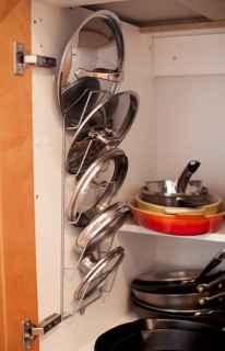 70 Surprising Apartment Kitchen Organization Decor Ideas (17)
