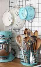 70 Surprising Apartment Kitchen Organization Decor Ideas (58)