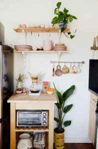 70 Surprising Apartment Kitchen Organization Decor Ideas (6)
