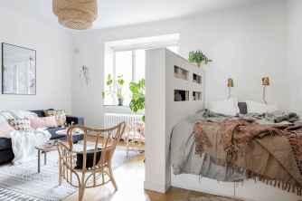 77 Magnificent Small Studio Apartment Decor Ideas (65)