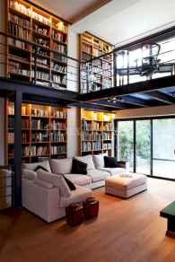 80 Pretty Modern Apartment Living Room Decor Ideas (12)