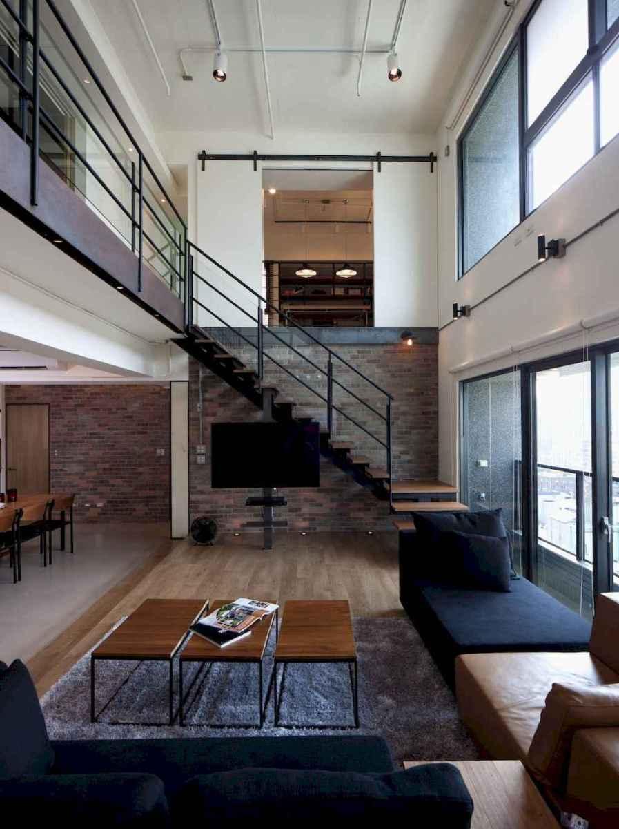 80 Pretty Modern Apartment Living Room Decor Ideas (55)