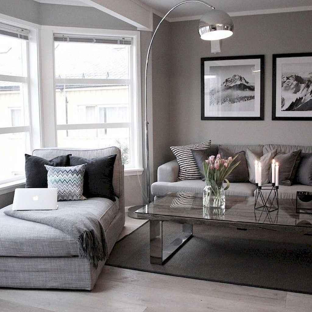 80 Pretty Modern Apartment Living Room Decor Ideas (64)