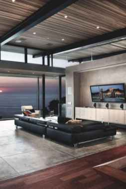 80 Pretty Modern Apartment Living Room Decor Ideas (65)