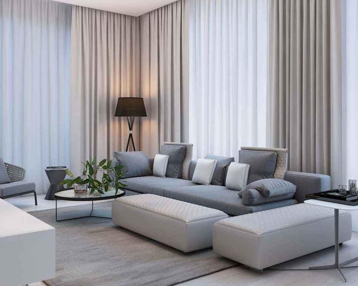 80 Pretty Modern Apartment Living Room Decor Ideas (78)