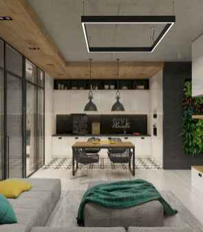 80 Smart Solution Small Apartment Living Room Decor Ideas (20)