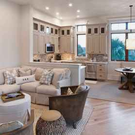 80 Smart Solution Small Apartment Living Room Decor Ideas (67)