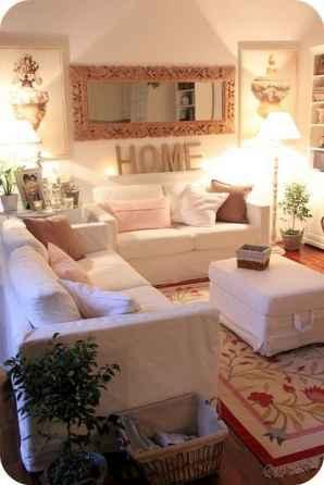80 Smart Solution Small Apartment Living Room Decor Ideas (68)