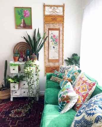 88 Beautiful Apartment Living Room Decor Ideas With Boho Style (12)