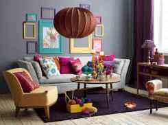 88 Beautiful Apartment Living Room Decor Ideas With Boho Style (14)