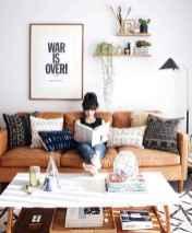 88 Beautiful Apartment Living Room Decor Ideas With Boho Style (27)