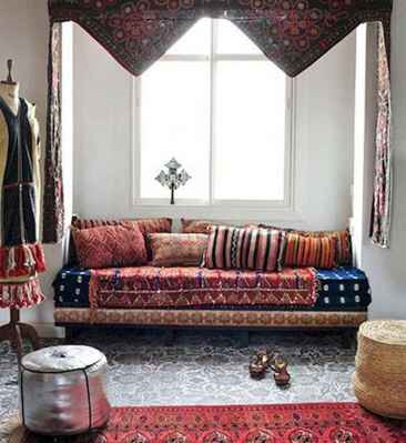 88 Beautiful Apartment Living Room Decor Ideas With Boho Style (58)