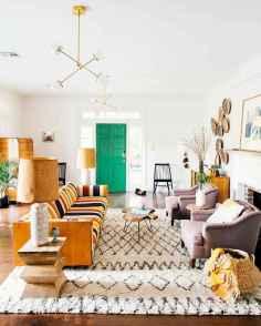 88 Beautiful Apartment Living Room Decor Ideas With Boho Style (6)