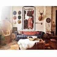 88 Beautiful Apartment Living Room Decor Ideas With Boho Style (65)