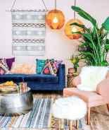 88 Beautiful Apartment Living Room Decor Ideas With Boho Style (85)