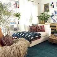 88 Beautiful Apartment Living Room Decor Ideas With Boho Style (86)