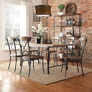 100 Rustic Farmhouse Dining Room Decor Ideas (14)