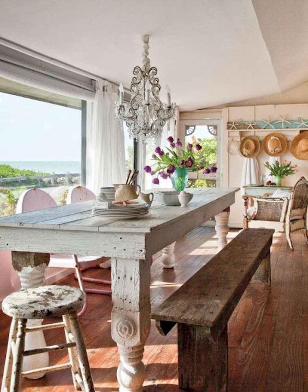 100 Rustic Farmhouse Dining Room Decor Ideas (28)
