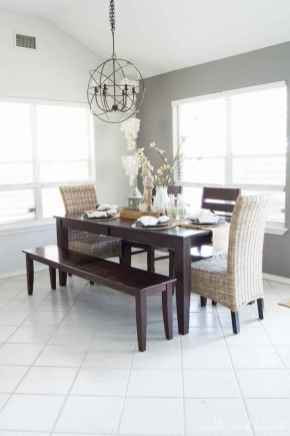 100 Rustic Farmhouse Dining Room Decor Ideas (29)