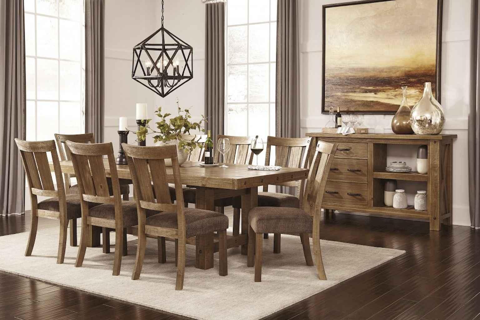 100 Rustic Farmhouse Dining Room Decor Ideas (34)