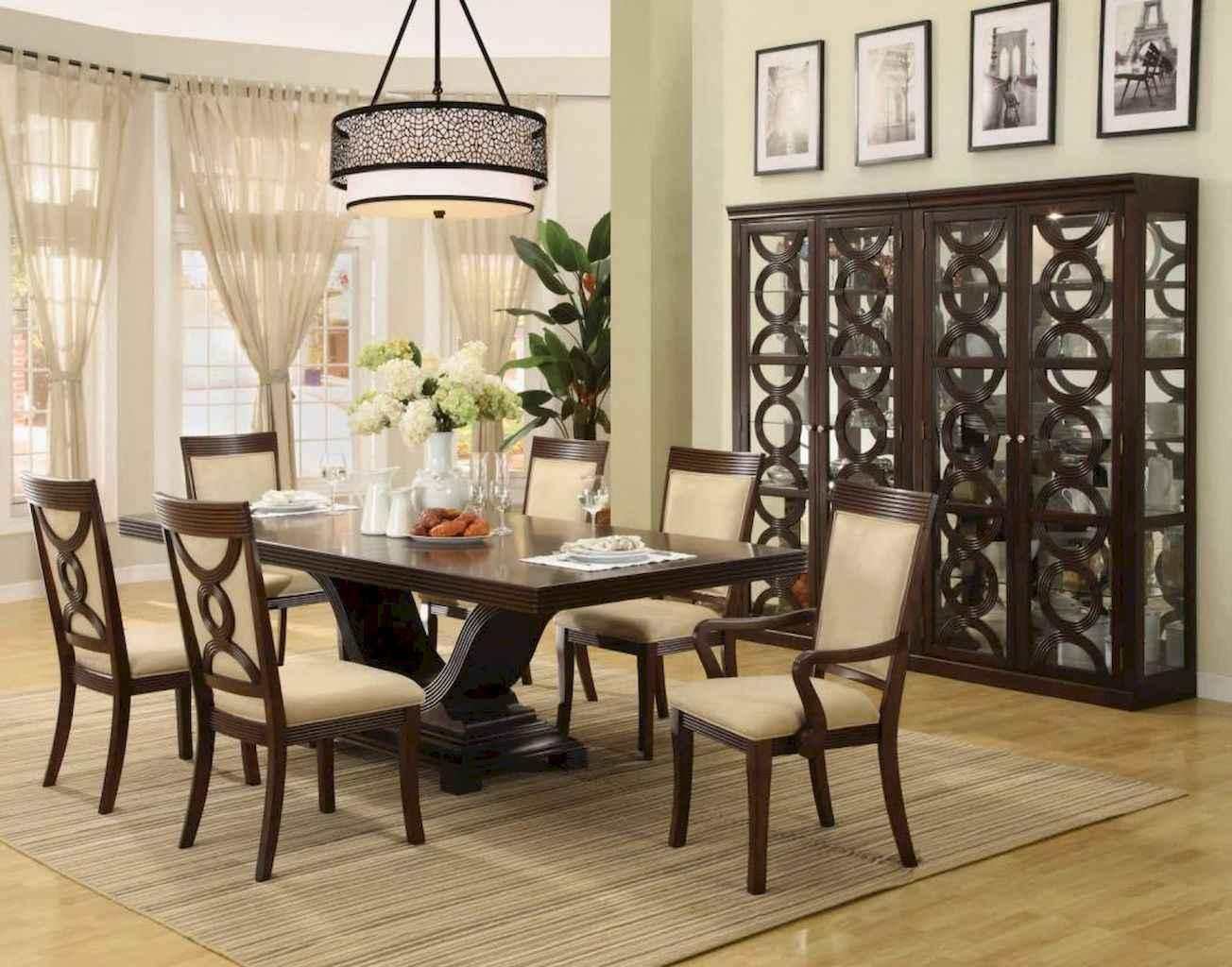 100 Rustic Farmhouse Dining Room Decor Ideas (40)
