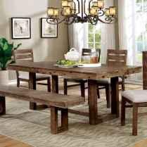 100 Rustic Farmhouse Dining Room Decor Ideas (64)