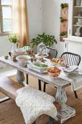 100 Rustic Farmhouse Dining Room Decor Ideas (66)