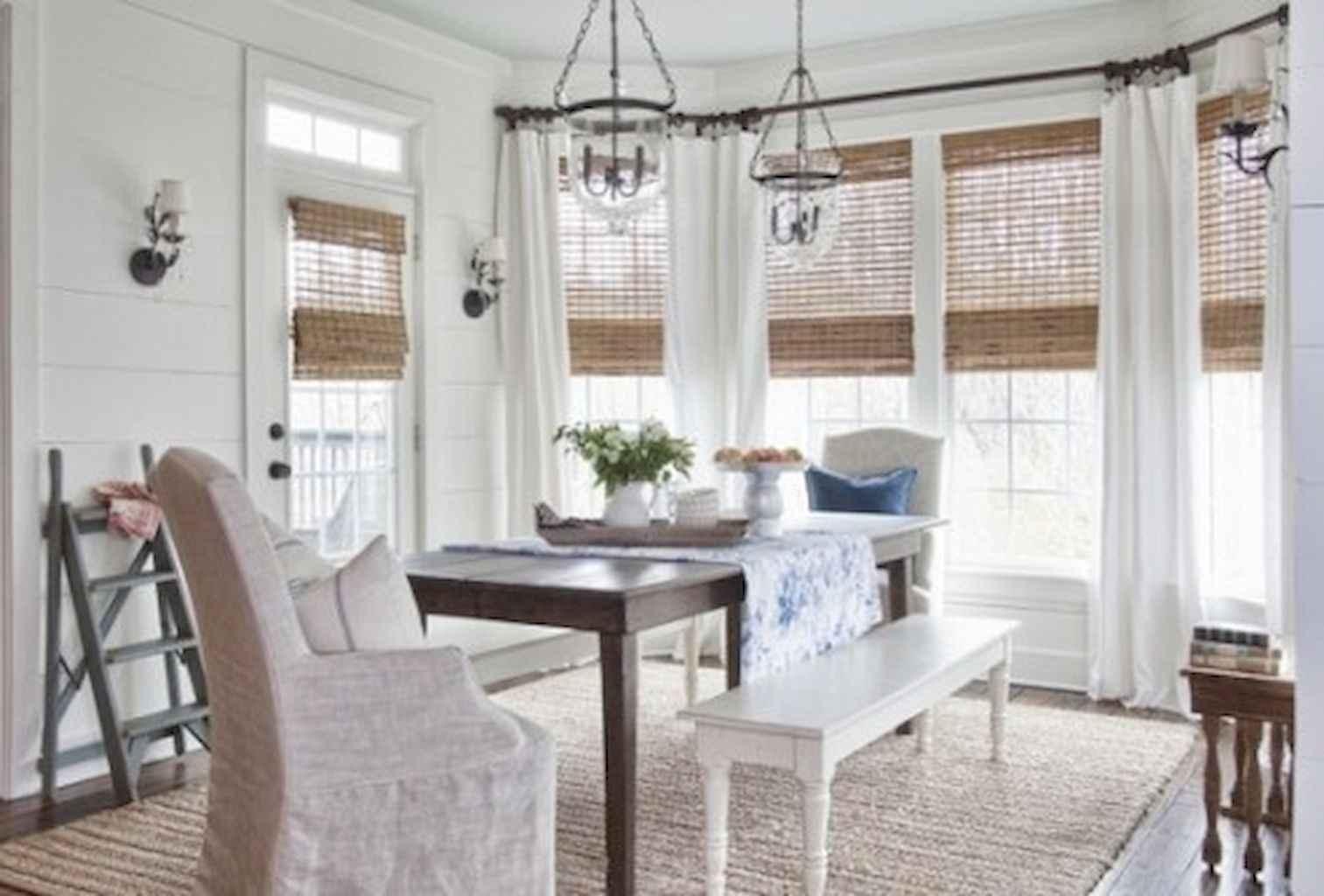 100 Rustic Farmhouse Dining Room Decor Ideas (78)