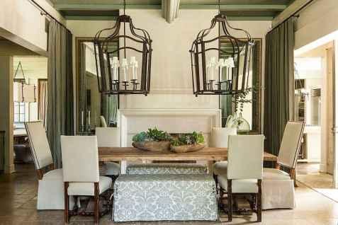 100 Rustic Farmhouse Dining Room Decor Ideas (83)