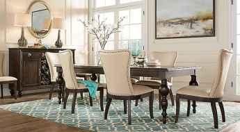 100 Rustic Farmhouse Dining Room Decor Ideas (89)