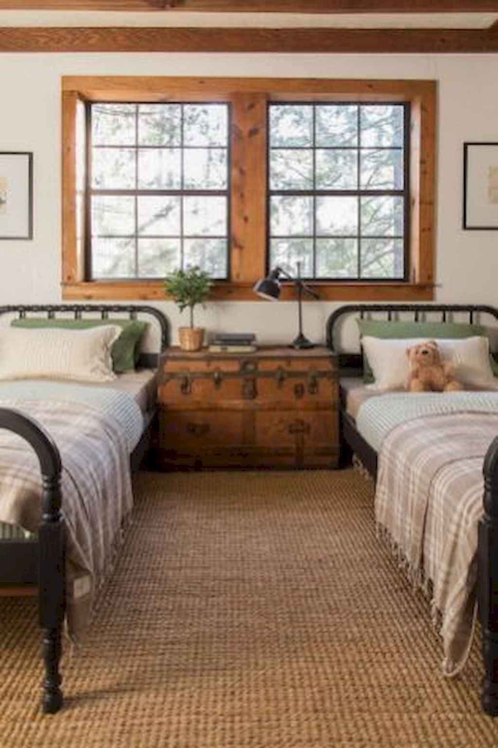 100 Stunning Farmhouse Master Bedroom Decor Ideas (15)