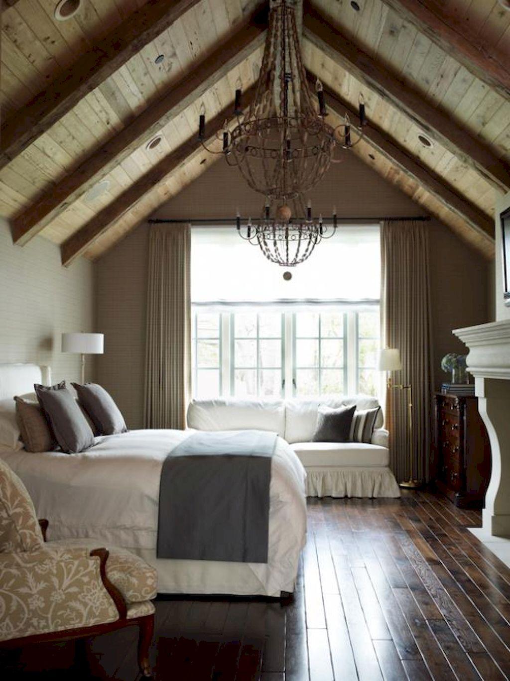 100 Stunning Farmhouse Master Bedroom Decor Ideas (3)