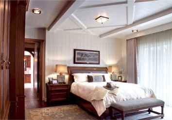 100 Stunning Farmhouse Master Bedroom Decor Ideas (35)
