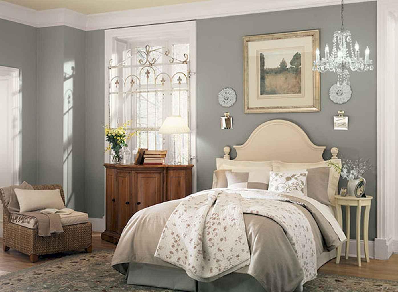 100 Stunning Farmhouse Master Bedroom Decor Ideas (46)