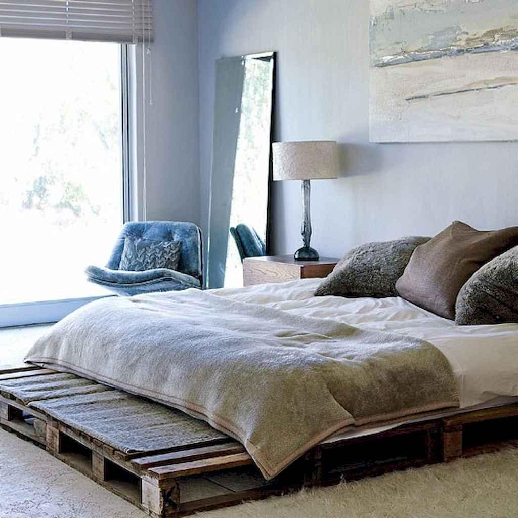 100 Stunning Farmhouse Master Bedroom Decor Ideas (83)