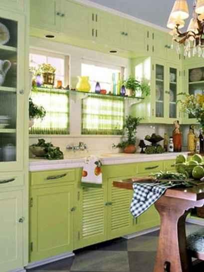 110 Amazing Farmhouse Kitchen Decor Ideas (11)