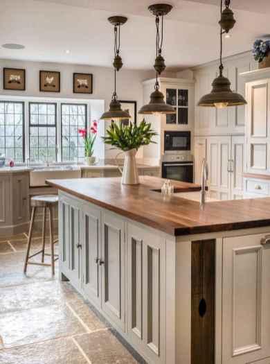 110 Amazing Farmhouse Kitchen Decor Ideas (45)