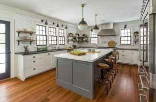 110 Amazing Farmhouse Kitchen Decor Ideas (47)