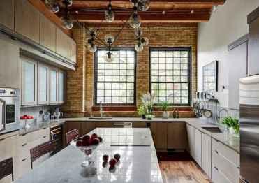110 Amazing Farmhouse Kitchen Decor Ideas (58)