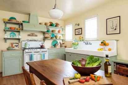 110 Amazing Farmhouse Kitchen Decor Ideas (93)