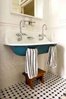 110 Best Farmhouse Bathroom Decor Ideas (103)