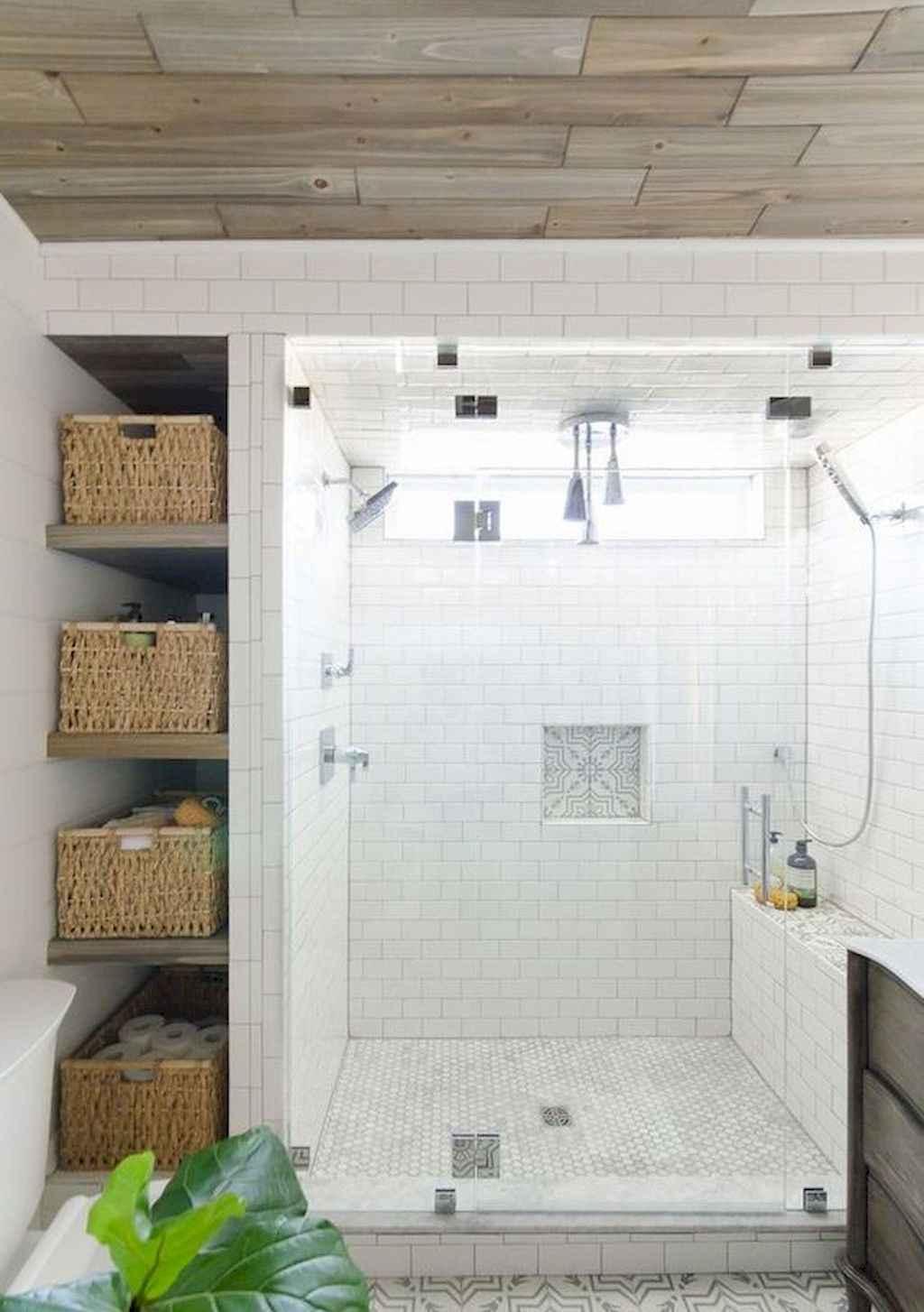 110 Best Farmhouse Bathroom Decor Ideas (120)