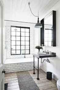 110 Best Farmhouse Bathroom Decor Ideas (161)