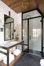 110 Best Farmhouse Bathroom Decor Ideas (178)