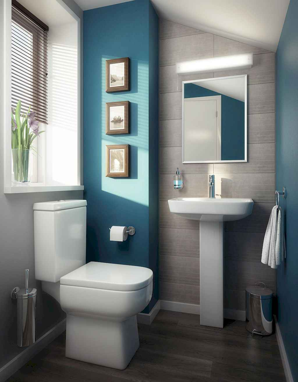111 Brilliant Small Bathroom Remodel Ideas On A Budget (40)
