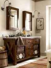 125 Brilliant Farmhouse Bathroom Vanity Remodel Ideas (10)