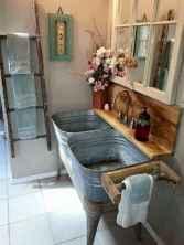 125 Brilliant Farmhouse Bathroom Vanity Remodel Ideas (101)