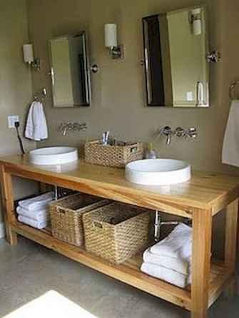 125 Brilliant Farmhouse Bathroom Vanity Remodel Ideas (26)